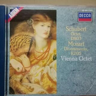 シューベルト:八重奏曲、モーツァルト:ディヴェルティメント/ウィーン八重奏団CD(クラシック)