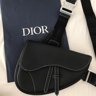 DIOR HOMME - Dior oblique saddlebag