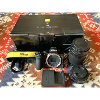 Nikon - nikon Z50 ニコン ミラーレス一眼カメラ ダブルズームキット
