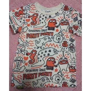 パーティーパーティー(PARTYPARTY)のPARTYPARTY Tシャツ 100cm(Tシャツ/カットソー)