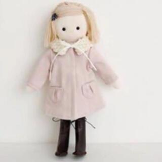 ボンポワン(Bonpoint)のc&s お人形 お着替えのキット チェックアンドストライプ (型紙/パターン)