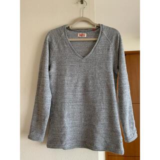 ハリウッドランチマーケット(HOLLYWOOD RANCH MARKET)のハリウッドランチマーケット ストレッチVネックフライスTシャツ(サイズ3)(Tシャツ(長袖/七分))