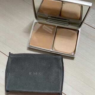 RMK - RMK UVパウダーファンデーション 102 レフィル ケース付き