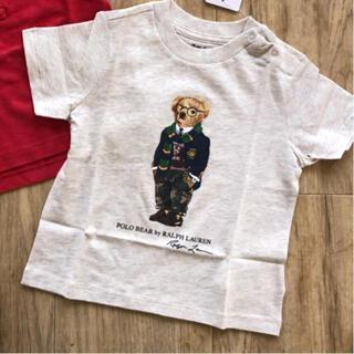 ラルフローレン(Ralph Lauren)のラルフローレン ベビー Tシャツ 80 眼鏡 ポロベア (Tシャツ)