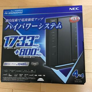 エヌイーシー(NEC)の無線LANルータ(PC周辺機器)
