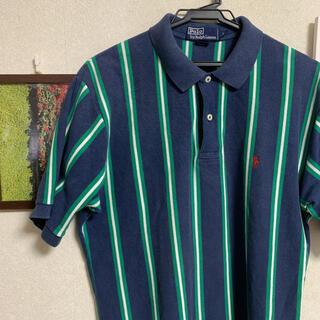 POLO RALPH LAUREN - ポロラルフローレン ストライプ 80s ポロシャツ