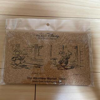 ディズニー(Disney)のディズニーアート展 コルクコースター2枚セット(テーブル用品)