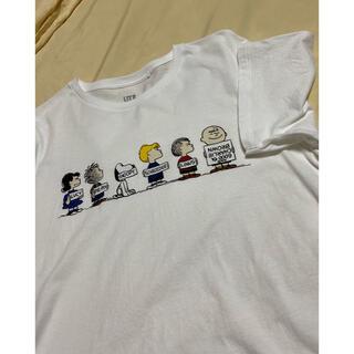 ユニクロ(UNIQLO)のユニクロ スヌーピーTシャツ(Tシャツ(半袖/袖なし))