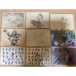 ディズニー(Disney)のディズニーアート展 ポストカードセット(写真/ポストカード)