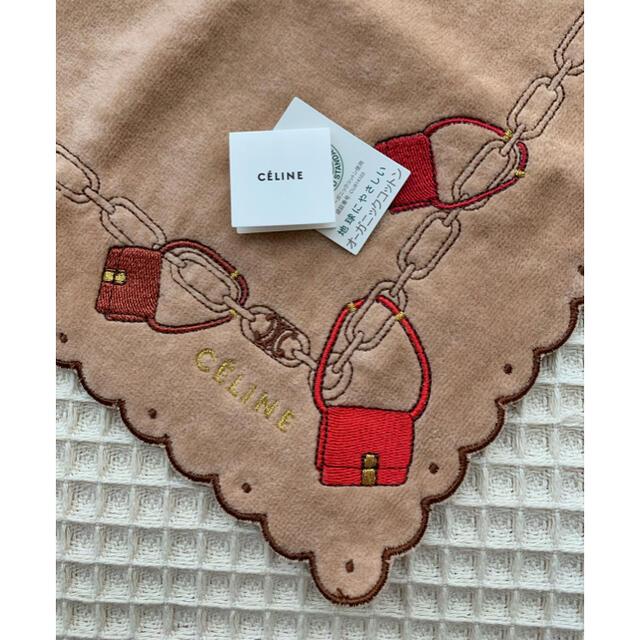 celine(セリーヌ)のセリーヌタオルハンカチ レディースのファッション小物(ハンカチ)の商品写真