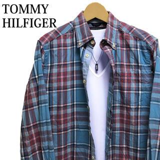 TOMMY HILFIGER - TOMMY HILFIGER チェックシャツ 長袖シャツ カジュアルシャツ