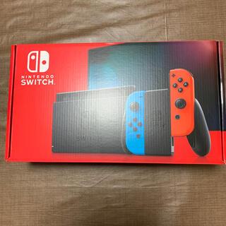 ニンテンドースイッチ(Nintendo Switch)の任天堂スイッチ本体 新品未開封 Nintendo Switch(家庭用ゲーム機本体)
