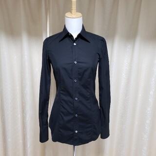 ディースクエアード(DSQUARED2)のDSQUARED2 ディースクエアード シャツ 長袖 ブラック 黒(シャツ/ブラウス(長袖/七分))