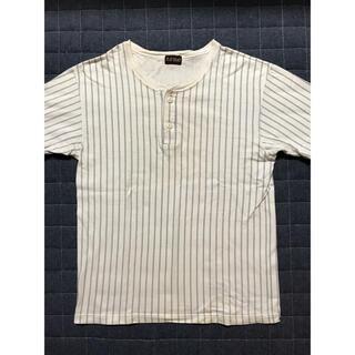 THE FLAT HEAD - フラットヘッド ヘンリーネック Tシャツ