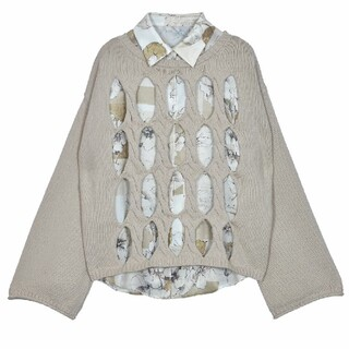 Ameri VINTAGE - AmeriVINTAGE 新作完売品 2wayシャツセットニットトップス
