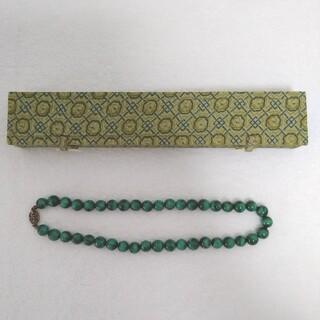 ★ ネックレス 約48cm 緑色 グリーン 中国
