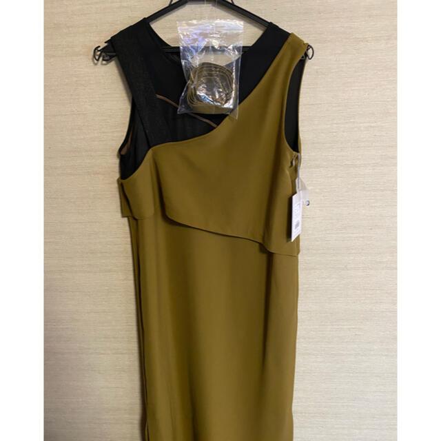 Ameri VINTAGE(アメリヴィンテージ)のタグ付き!アメリヴィンテージ MEDI MILLEFEUILLE DRESS レディースのワンピース(ロングワンピース/マキシワンピース)の商品写真