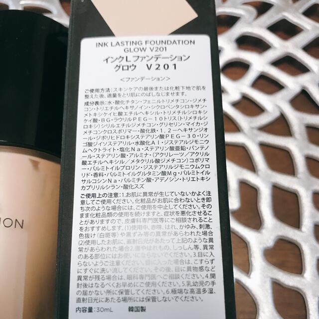 THE FACE SHOP(ザフェイスショップ)のインク ラスティング ファンデーション コスメ/美容のベースメイク/化粧品(ファンデーション)の商品写真