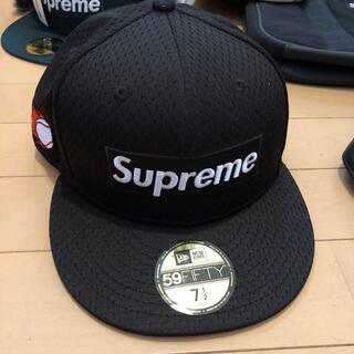Supreme - Supreme 18ss MESH BOX LOGO NEW ERA ブラック