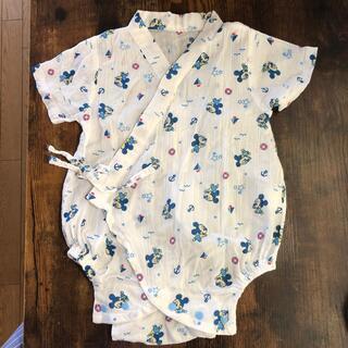 ディズニー(Disney)のベビー ミッキー 甚平 60 70 (甚平/浴衣)