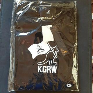 カンゴール(KANGOL)のかほなん×KANGOL REWARD コラボ Tシャツ XLサイズ(Tシャツ/カットソー(半袖/袖なし))
