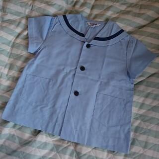 幼稚園  セーラータイプ  夏用  制服 130