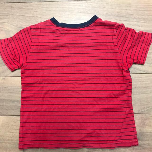 POLO RALPH LAUREN(ポロラルフローレン)のラルフローレン ボーダーTシャツ 110㎝ キッズ/ベビー/マタニティのキッズ服男の子用(90cm~)(Tシャツ/カットソー)の商品写真