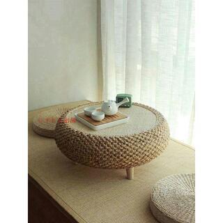 風と窓のテーブル畳の小茶台シンプルなテーブルの低いテーブル実木窓台テーブル