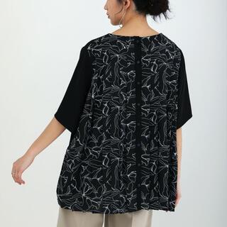 ブージュルード(Bou Jeloud)のBou jeloud : Backプリーツブラウス ブージュルード(Tシャツ(半袖/袖なし))
