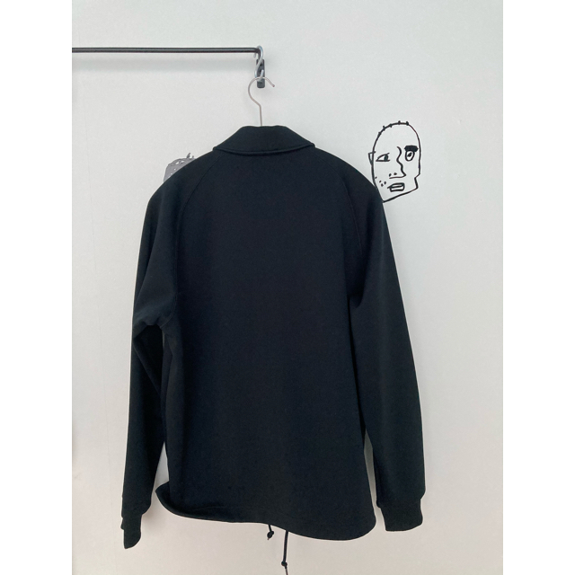 FRED PERRY(フレッドペリー)のFRED PERRY フレッドペリー ジャージ コーチジャケット ブラック メンズのジャケット/アウター(ブルゾン)の商品写真