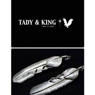 ゴローズ(goro's)の正規品   タディアンドキング TADY&KING  ハートSVフェザー L 左(ネックレス)