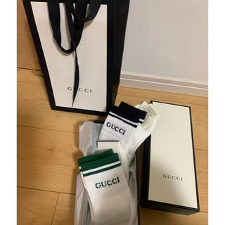グッチ(Gucci)のGUCCI 靴下 メンズ 2足セット(ソックス)