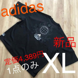 adidas - ☆新品☆アディダス adidas メンズTシャツ ブラック XLサイズ