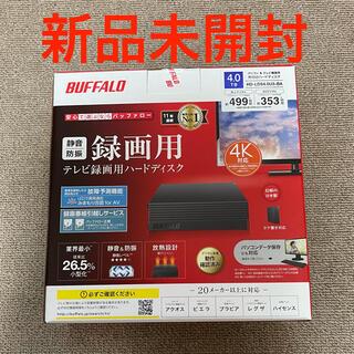 Buffalo - BUFFALO 外付けHDD 4TB HD-LDS4.0U3-BA