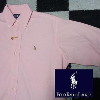 ラルフローレン(Ralph Lauren)の【ラルフローレン】半袖BDシャツ海外S(022)日本のL程度ありポロ(シャツ)