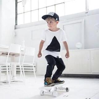コドモビームス(こども ビームス)のKINDISH Tシャツ 北欧 子供 キッズ モノトーン(Tシャツ/カットソー)