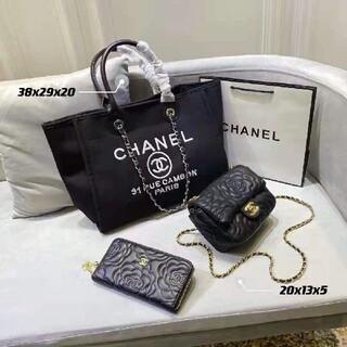 シャネル(CHANEL)の人気 3点セット ハンドバッグ 人气三件套(バッグ)