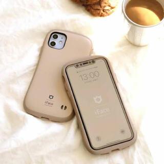 新品 正規品iFace iPhone12Pro/12専用 カフェラテ