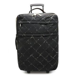シャネル(CHANEL)のシャネル キャリーバッグ (22040987)(トラベルバッグ/スーツケース)