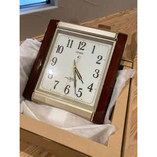 CITIZEN - CITIZEN   壁掛け時計 電波時計 未使用 動作確認済