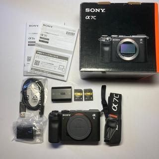 SONY - 【新品同様SD2枚付き】Sony α7c ボディ