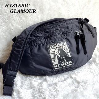 HYSTERIC GLAMOUR - 完売品* ヒステリックグラマー  ボディバッグ  ガールフォト プリント 黒