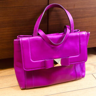 kate spade new york - ★5/16まで販売★ ★ケイトスペード 紫 ショルダーバック トートバッグ