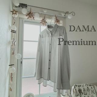dinos - 新品 イタリア製生地 ダーマプレミアム ブラウス シャツ