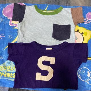 デニムダンガリー(DENIM DUNGAREE)のDENIM DUNGAREE/半袖Tシャツ2枚まとめ売り100/デニムダンガリー(Tシャツ/カットソー)