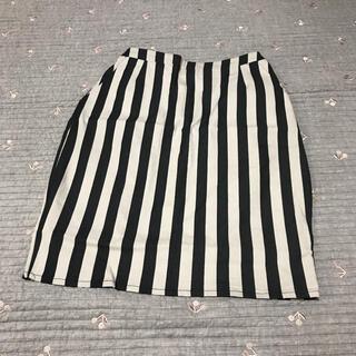 ケービーエフ(KBF)のKBF♡ケービーエフ ストライプ スカート(ひざ丈スカート)