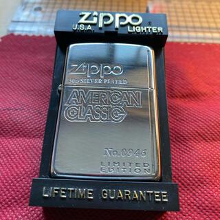 ジッポー(ZIPPO)のzippo  limited Edition silver plate30y(タバコグッズ)