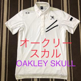 Oakley - オークリー スカル ゴルフ Skull Upright 半袖ポロシャツ2.0 L