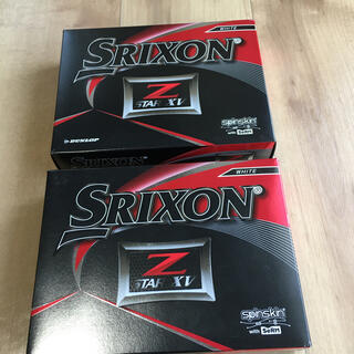 スリクソン(Srixon)のスリクソン z-starxv 2ダース(その他)