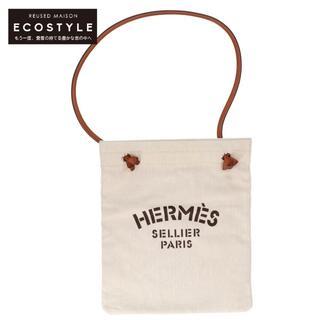 Hermes - エルメス ショルダーバッグ ベージュ/ブラウン